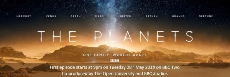 Kyk na BBC se The Planets from Anywhere